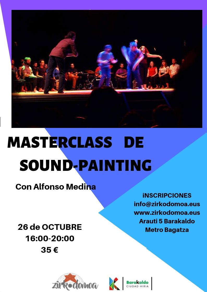 MASTERCLASS  SOUND-PAINTING